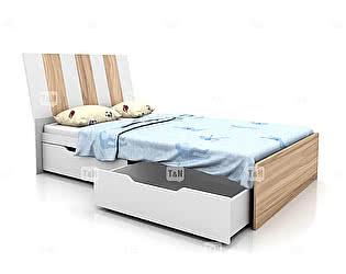 Купить кровать Tomy Niki Lucas Oak A22 (120) с 2я ящиками