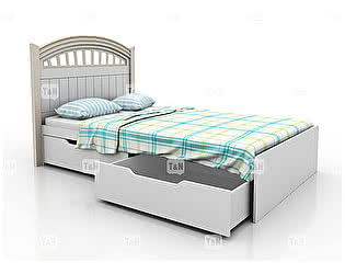 Купить кровать Tomy Niki Michael A21 (90) 2 ящика