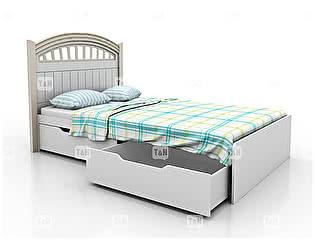 Купить кровать Tomy Niki Michael A22 (120) 2 ящика