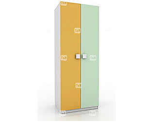 Купить шкаф Tomy Niki Tracy E24 2х дверный (7 полок)