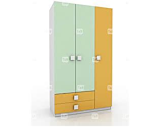 Купить шкаф Tomy Niki Tracy E31 3х дверный (2 ящика)
