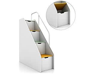 Купить лестницу Tomy Niki Ступеньки-ящики Tracy T10 открывающиеся