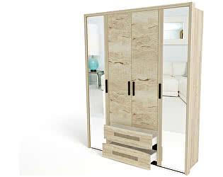 Купить шкаф СБК Мале 4-х дверный