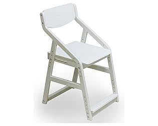 Купить стул 38 попугаев Робин ВУД растущий эргономичный