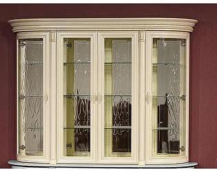 Купить шкаф Юта Милан 1-01 4х дверная (витрина)