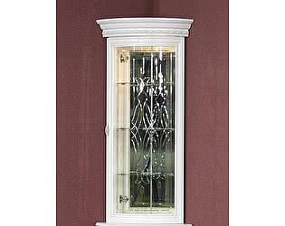 Купить шкаф Юта Милан 6-01 угловая витрина