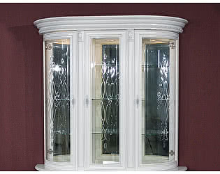 Купить шкаф Юта Милан 11-01 3х дверная витрина