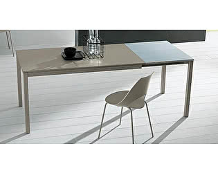 Купить стол M-City MAGO (01.35) 120/180х80хН75 см  (М312/ M312/М312  песочн.композит+L072ал)