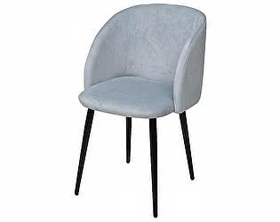 Купить кресло M-City YOKI серо-голубой, велюр G062-42