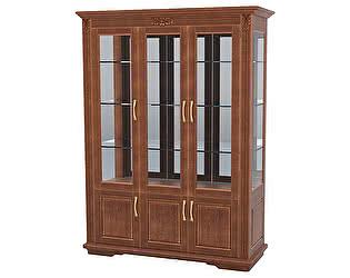 Купить шкаф DreamLine Палермо 3 створки витрина