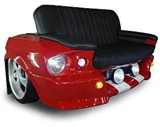 Купить диван Rolling Stol Ford Mustang (1967 г) цвет на заказ, с подсветкой