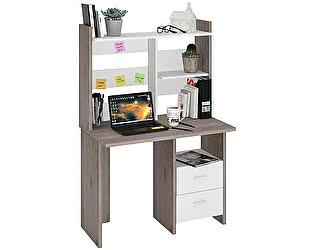 Купить стол Мэрдэс СКЛ-Прям100+НКЛ-100 со скругленными углами