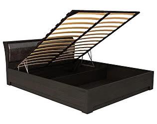 Купить кровать Кураж Парма СП.040.428 с подъемным основанием 1600 Венге