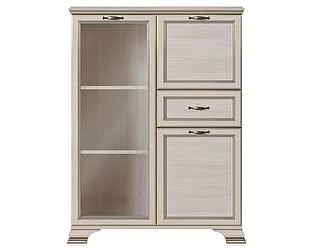 Купить шкаф Кураж Сиена ГТ.0123.303 низкий (1 стеклодверь)
