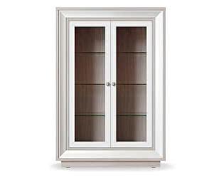 Купить шкаф Кураж Прато ГТ.0114.303 2-х дверный (2 стеклодвери) 998 низкий
