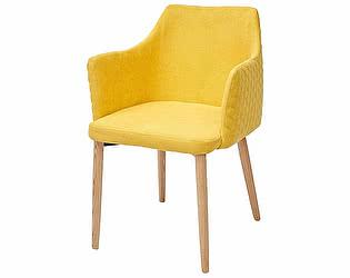 Купить кресло M-City OTTAVA желтый, PK-33