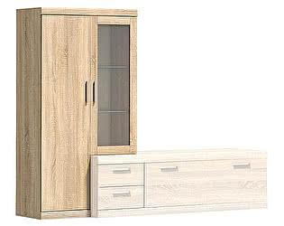 Купить шкаф Анрекс Duna 1V1D L витрина