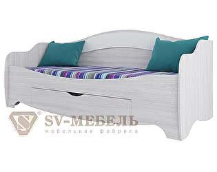 Купить кровать SV-мебель Акварель (с ящиком)