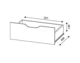 Купить  SV-мебель Ящик для кровати Алекс-1 (клен / титан)