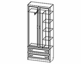 Купить шкаф SV-мебель Вега ДМ-02