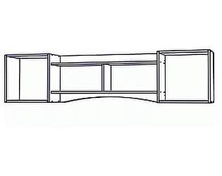Купить полку SV-мебель Вега ДМ-10 (1,9 м) навесная