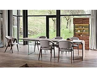 Купить стол M-City SPIRIT1 / S1 PW120 / Nuss Geolt UG / 100/209 cm