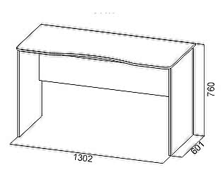 Купить стол SV-мебель Сити-1