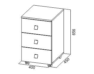 Купить тумбу SV-мебель Сити-1 выкатная