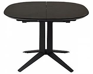 Купить стол M-City ILLINOIS 110 SPANISH CERAMIC DARK GREY серый матовый
