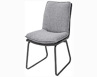 Купить стул M-City MALAWI GREY, ткань + экокожа