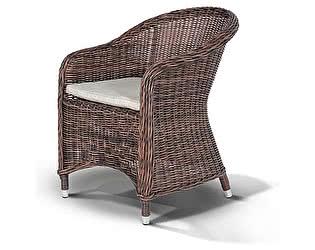 Купить кресло Кватросис Равенна, YH-C1103W темно-коричневый