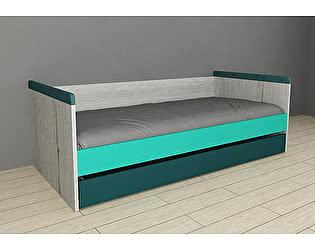 Купить кровать 38 попугаев НьюТон малая 90х170