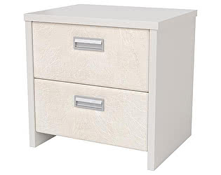 Купить тумбу Орма-мебель Como/Veda 2 ящика (ЛДСП) цвета люкс