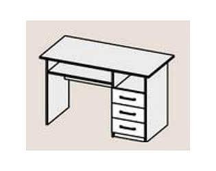 Купить стол Диал Стол письменный Бриз (МДФ)