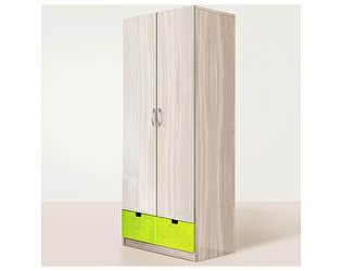 Купить шкаф Диал Шкаф 2-дверный Бриз (МДФ)