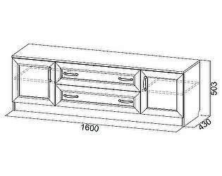 Купить тумбу SV-мебель Вега ВМ-31