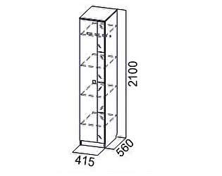 Купить шкаф SV-мебель Пенал Гамма-15