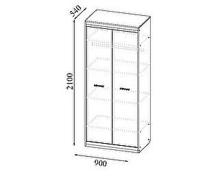 Купить шкаф SV-мебель Гамма-19