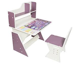 Купить стол Я САМ Детская растущая парта и стульчик Первое место Леди