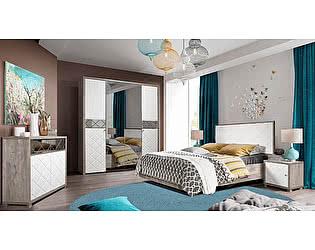 Купить спальню КМК Кристал Комплектация 1