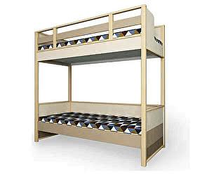 Купить кровать 38 попугаев Робин Вуд 2х ярусная универсальная 80х190 (без ящика и лесенки)