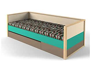 Купить кровать 38 попугаев Робин Вуд нижняя с фальш панелью 80х190
