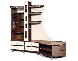 Купить гостиную КМК комбинированный с тумбой КМК 0365.2 (правая)