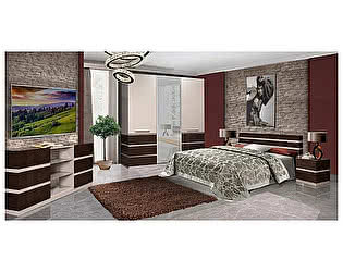 Купить спальню КМК Хилтон Комплектация 1