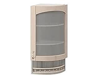 Купить шкаф Боровичи-мебель МВ 30В торцевой со стеклом правый