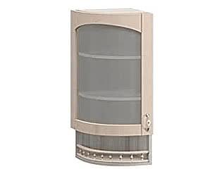 Купить шкаф Боровичи-мебель МВ 30В торцевой со стеклом левый