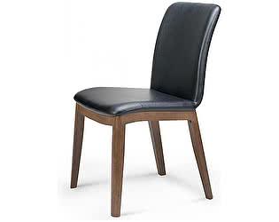 Купить стул Норден ГЕОРГ 146L-501-HS268 Массив гевеи, черная, экокожа
