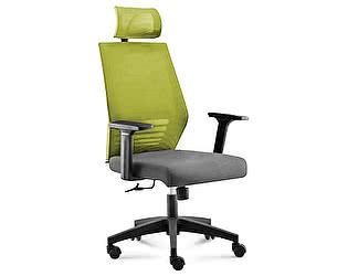 Купить кресло Норден Престиж black (зеленый/серый)