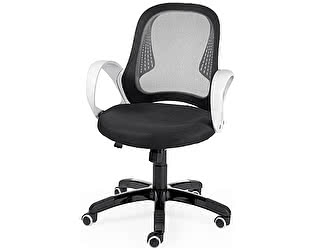 Купить кресло Норден Лайм (белый пластик/черный)