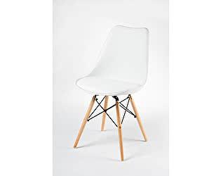 Купить стул Норден Нексус ножки бук, белый пластик